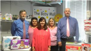 Pictured from left to right: Honorable Judge Richard T. Kent, Administrative Assistant Edith Vazquez, Ministry Coordinator Donna Collum,  Probation Officer Crystal Bryant, and Senior Probation Officer Alan Boyd